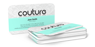 business cards w round corners - Round Business Cards