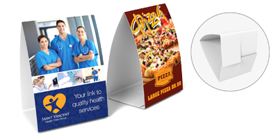 Wholesale Table Tents Table Tent Printing - Standard table tent size